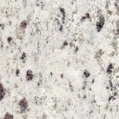 Indian Granite Sample, White Galaxy Granite Sample