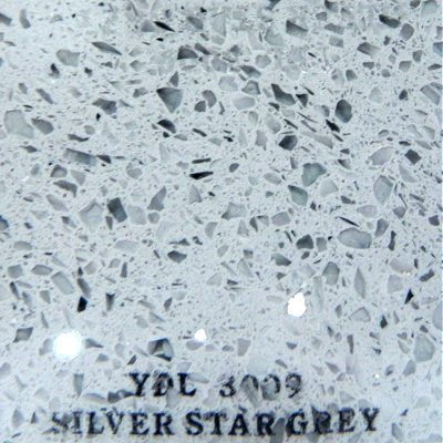 Quartz YDL-3009 Silver Star Grey sample